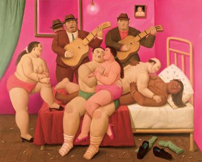A work of Fernando Botero